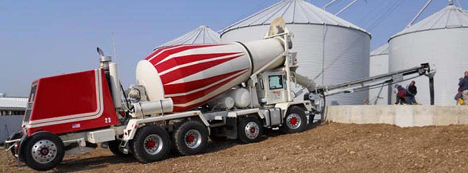 First front discharge conveyor Ready Mix Truck  									in the United States